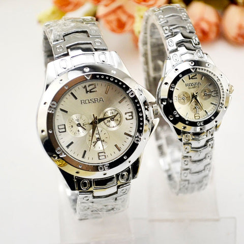 Fashion White Couple Watches, A Pair Of Korean Version Of The  Watch Men Watch Waterproof