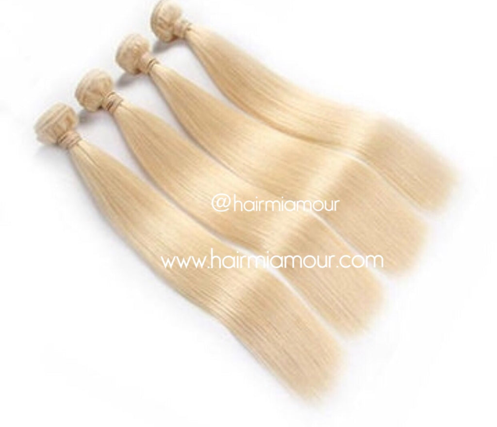613 Virgin Mink Malaysian Straight Extensions