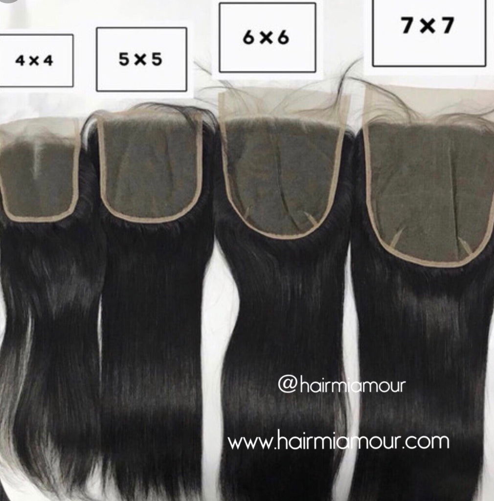Virgin Mink Malaysian 5x5 Closure