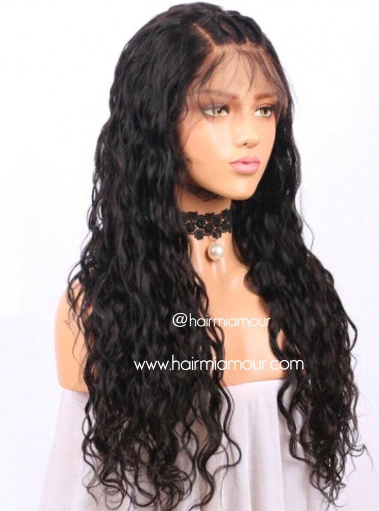 Natural Body Wave Wig Unit- 1/2 Lace 13x4 Frontal Unit or Full Lace Unit 150% Density