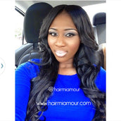 Silky Straight Wig Unit- 1/2 Lace 13x6 Frontal
