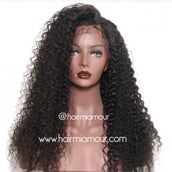 Ripple Wave Wig Unit- 1/2 Lace 13x6 Frontal