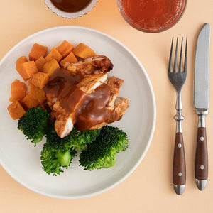 Juicy BBQ Chicken: Light