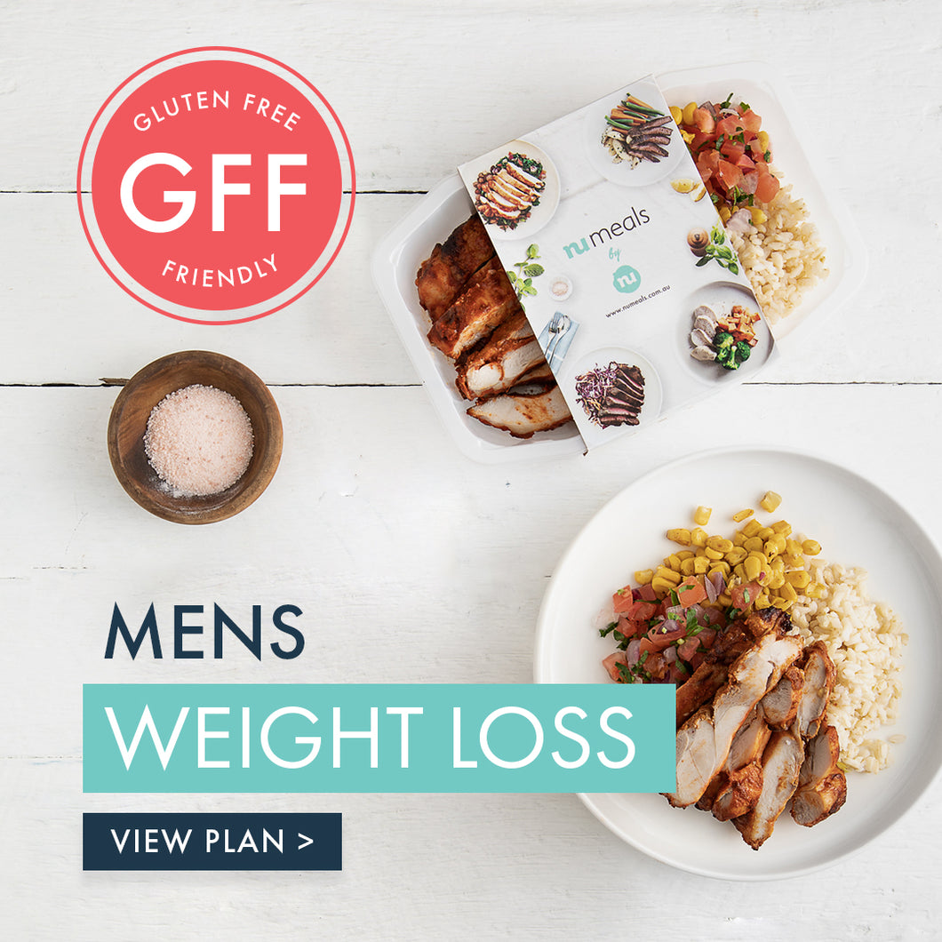 Men's GFF Weight Loss, 7-days, Lunch & Dinner