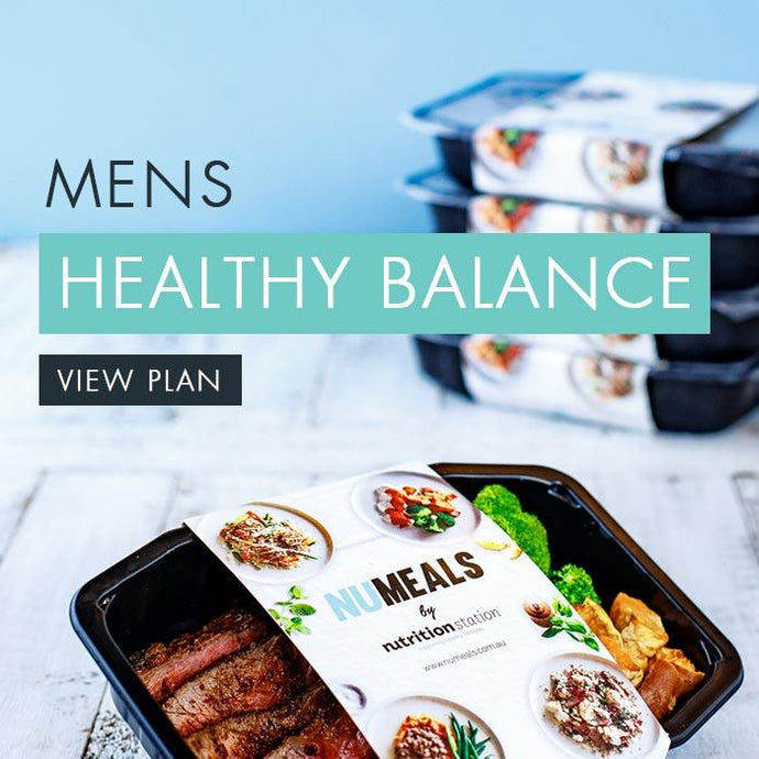 Men's Healthy Balance, 5-days, Lunch & Dinner
