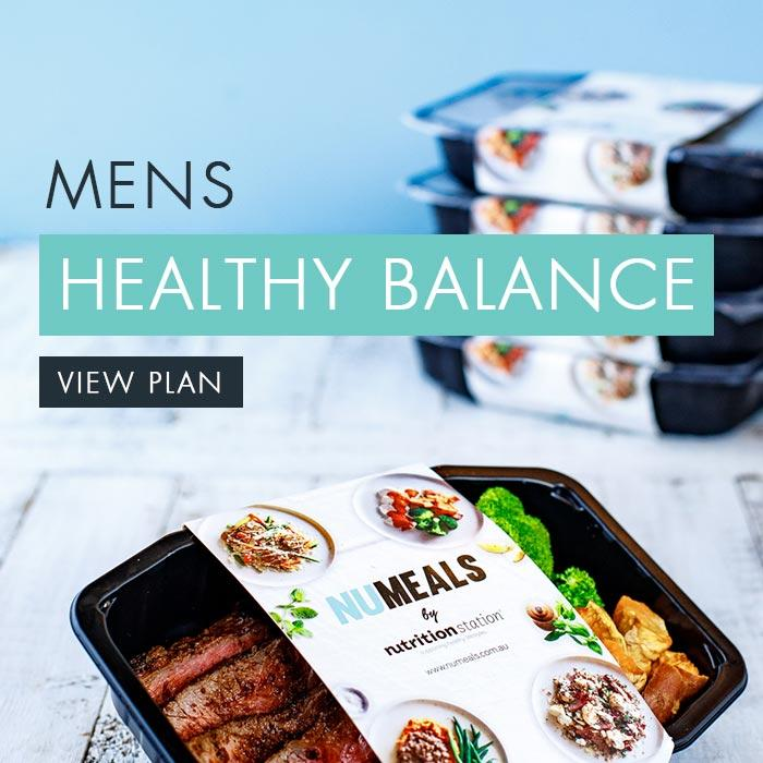Men's Healthy Balance, 7-days, Lunch & Dinner