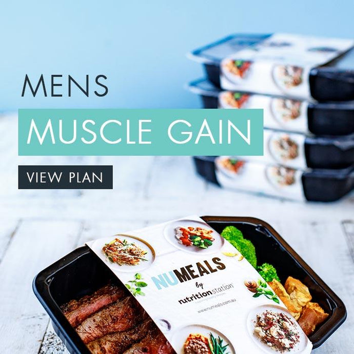 Men's Muscle Gain, 5-days, Lunch & Dinner