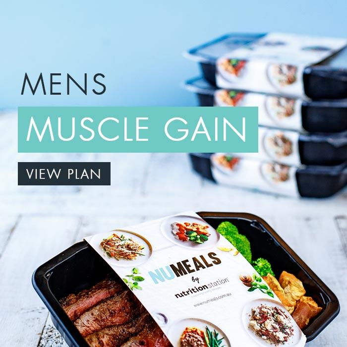 Men's Muscle Gain, 5-days, Dinner Only