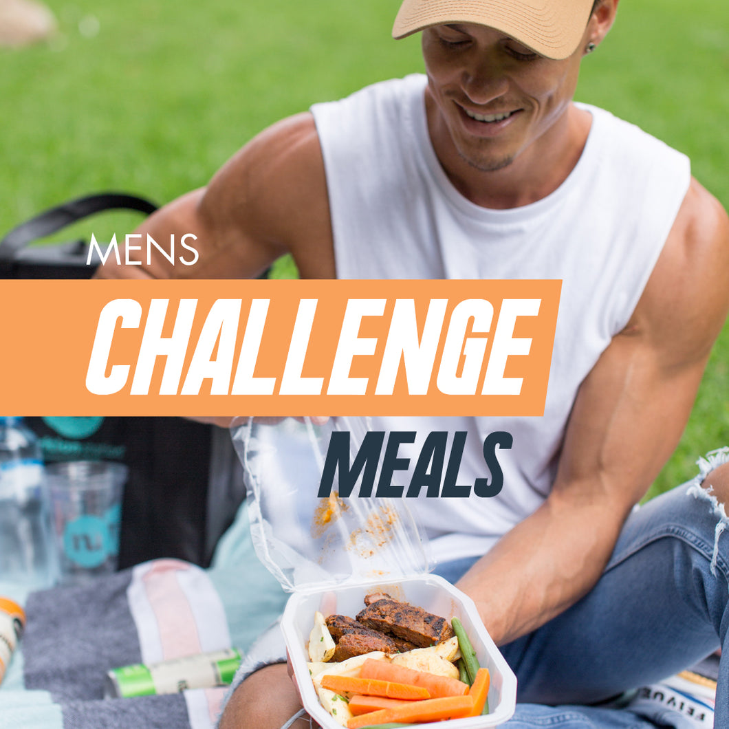 5-days, Lunch & Dinner, Men's Challenge
