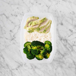 100g Garlic Herb Chicken Breast 150g Basmati Rice 150g Broccoli