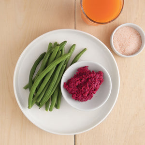 Green Beans and Beetroot Hommus