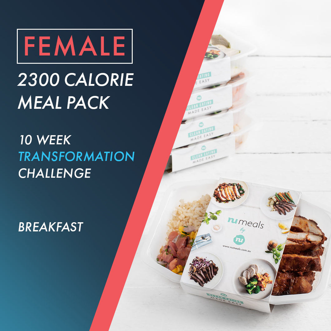 Female 2300 Breakfast