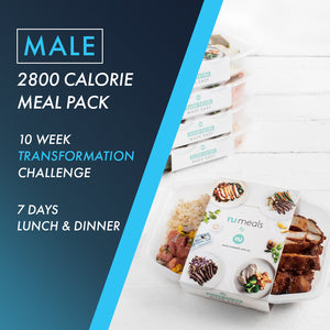 Male 2800 Lunch & Dinner 7 Days