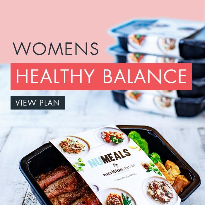 Women's Healthy Balance, 7-days, Lunch Only