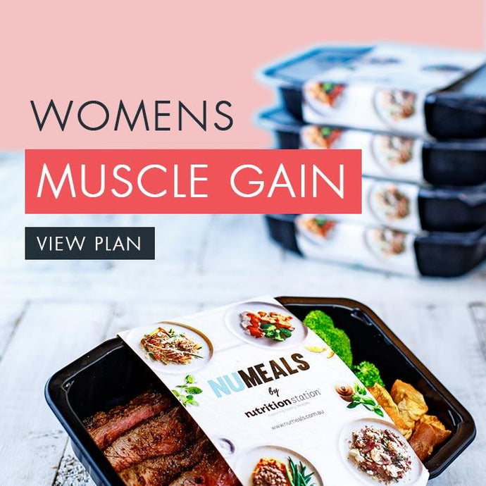 Women's Muscle Gain, 5-days, Lunch & Dinner