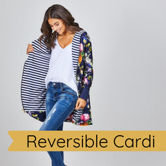 Reversible Cardi by Augustine