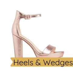 Heels and Wedges Footwear Robe Boutique