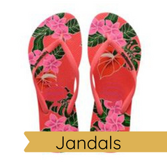 Jandals at Robe Boutique