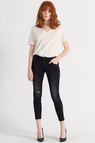 Freebirds II Low Waist Skinny Jean - Jett Black