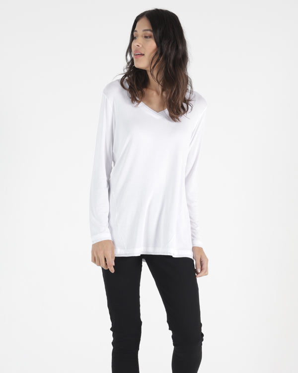 Betty Basics York Top - White