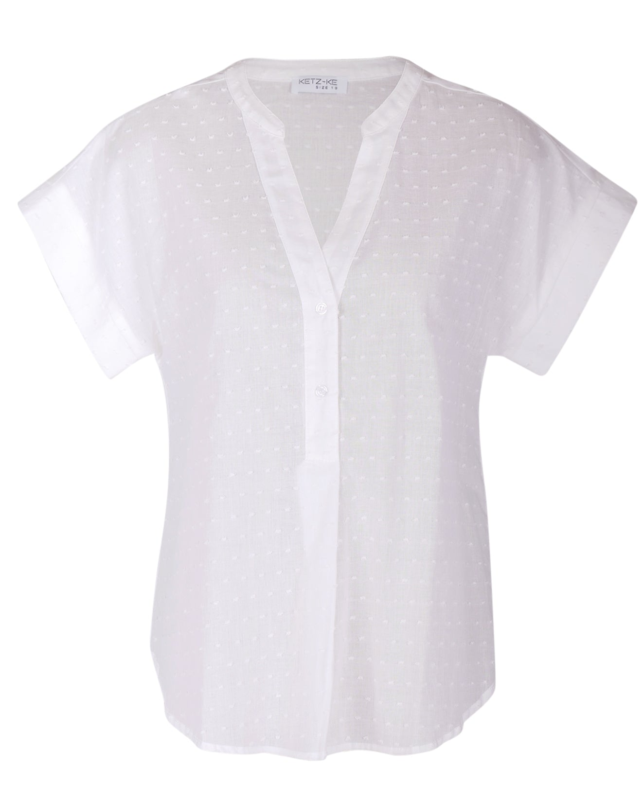 Ketz-Ke Recall Top - White