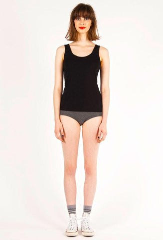 Ketz-Ke Short Core Tank - Black
