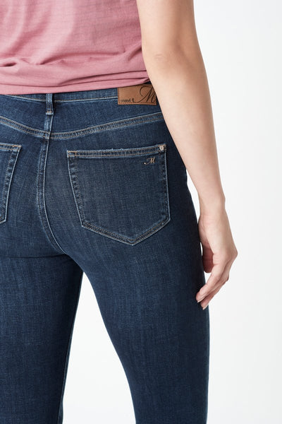 Mavi Scarlett Jeans |  Dark Feather Blue
