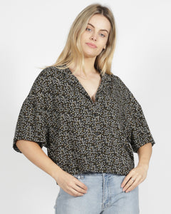 Sass Etta Top | Ditsy Floral