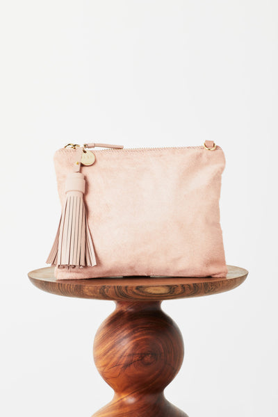 Vash Mickey Clutch - Pink Hide