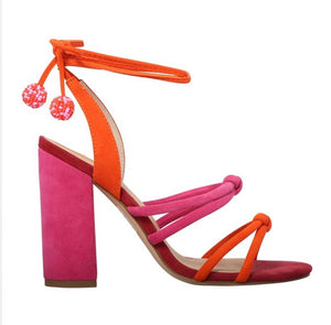 Skin Melrose Heel - Hot Pink Multi