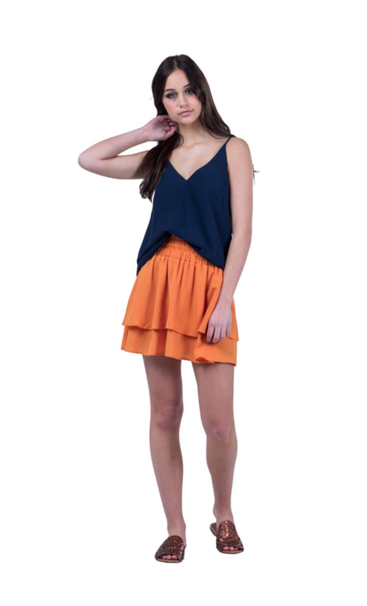 Pretty Basic Hadley Singlet - Navy