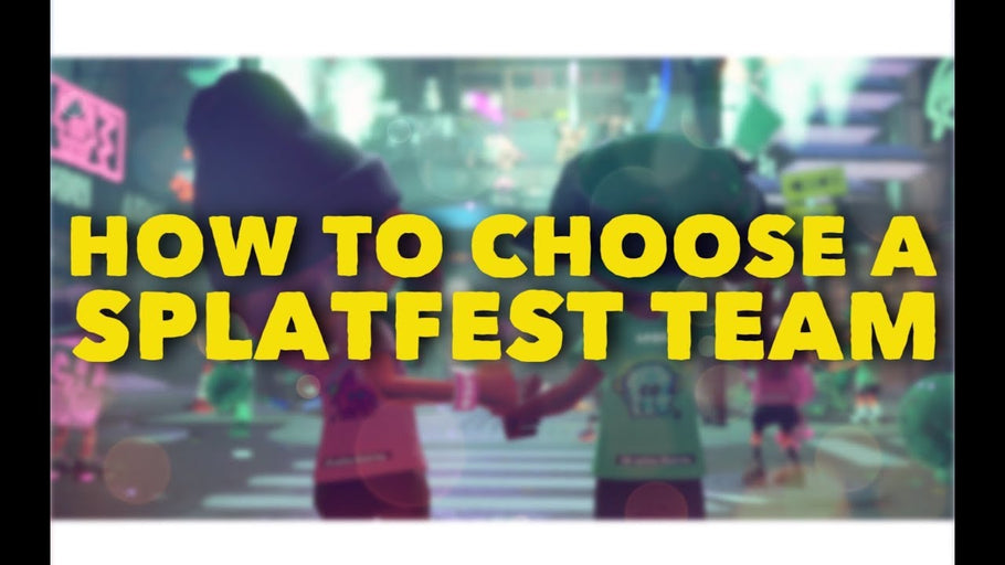 How to Choose a Splatfest Team in Splatoon 2
