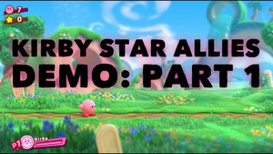 Kirby Star Allies Demo