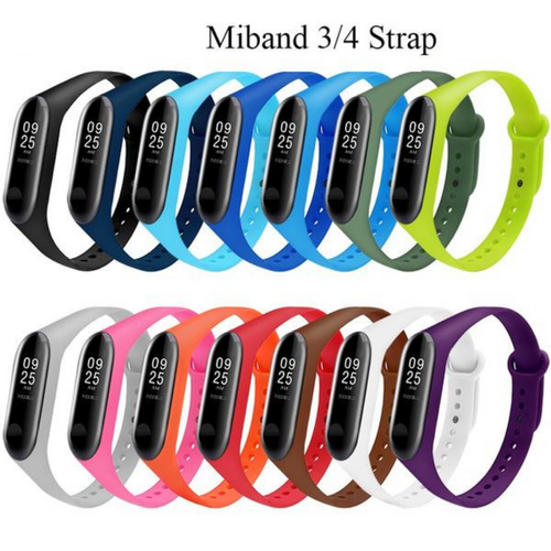 Single Color Mi Band 3/4 Strap