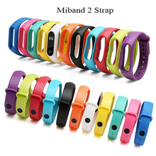 Load image into Gallery viewer, Single Color Mi Band 2 Strap