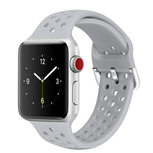 Solid Silicone Band for Apple Watch