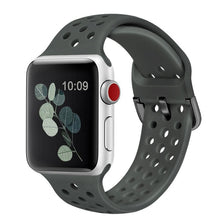 Load image into Gallery viewer, Solid Silicone Band for Apple Watch