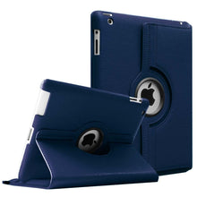 Load image into Gallery viewer, Leather iPad Case Cover With Smart Stand Holder