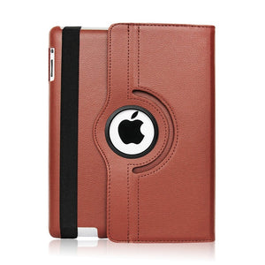 Leather iPad Case Cover With Smart Stand Holder