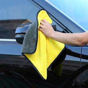 Ultra Thick Microfiber Car Cleaning Towel (Super Absorbent)