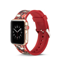 Load image into Gallery viewer, Pattern Silicone Band for Apple Watch