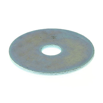 Fender Washer, 1/4 in X 1-1/4 in, Zinc Plated Steel, Pack of 25 (for fastening some tub models)