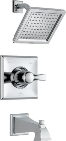 Delta T14451 Dryden Monitor 14 Series Tub and Shower Trim, Chrome