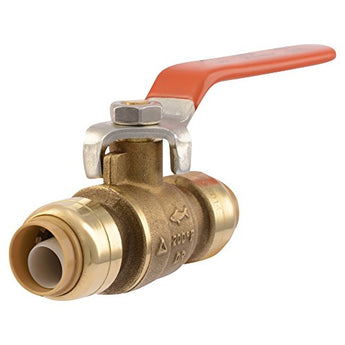 SharkBite  Ball Valve 1/2-Inch for Copper Pipe, PEX, CPVC, HDPE