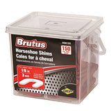 Brutus 99801BR Horseshoe Shim Tile Spacers, 1/8-Inch, Pail of 150