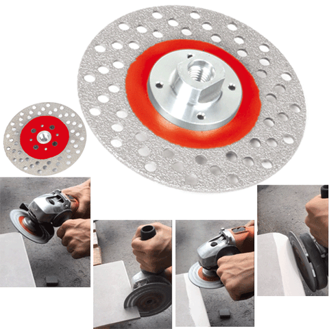 Montolit STL Diamond Cutting and Grinding Wheel