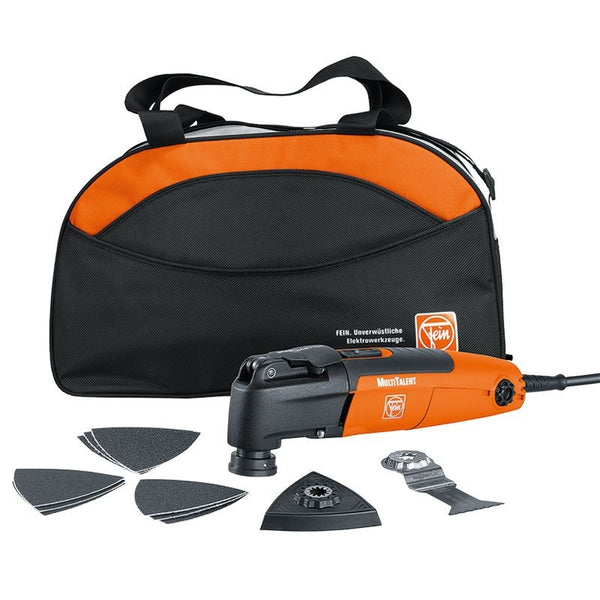 Fein MultiTalent Oscillating Tool 250QSL 'STARTQ' Tool Kit with Bag