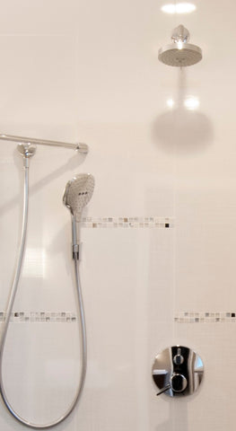 ... Hansgrohe KSH04447 04342 66PC Raindance Shower Faucet Kit With  Handshower Wallbar PBV Trim With