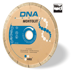 "Montolit ""DNA"" Porcelain Diamond Blade (wet saw: Porcelain)"