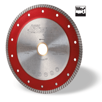 "10"" Red Line Turbo Porcelain Blade (wet saw)"